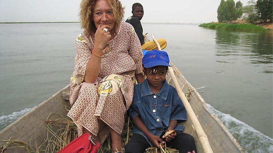 L'humanitaire Sophie Pétronin pendant sa mission au Mali.