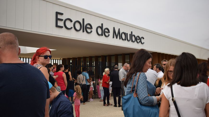 L'école de Maubec a officiellement été inaugurée ce jeudi.