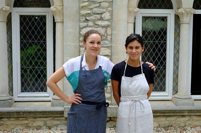 La Courtille : Marie Lézouret et Natalia Crozon