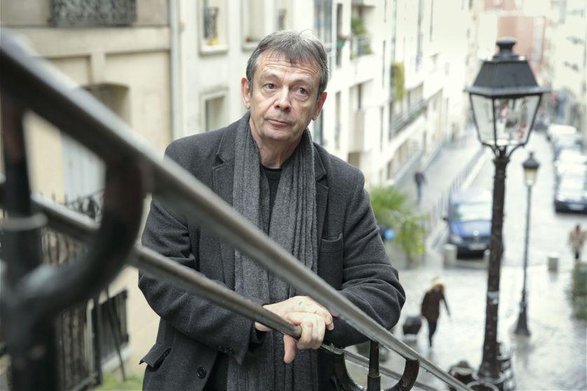 Portrait de l'écrivain Pierre Lemaitre