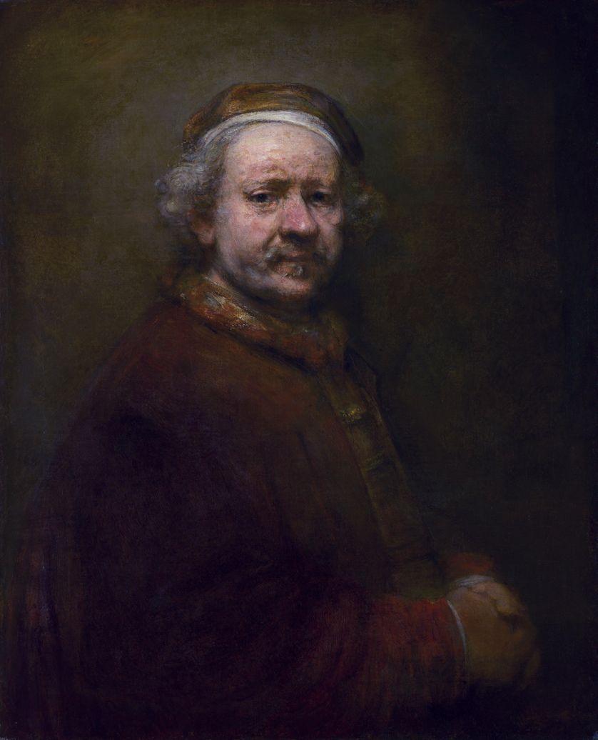 Autoportrait à l'âge de 63 ans, La National Gallery, 1669