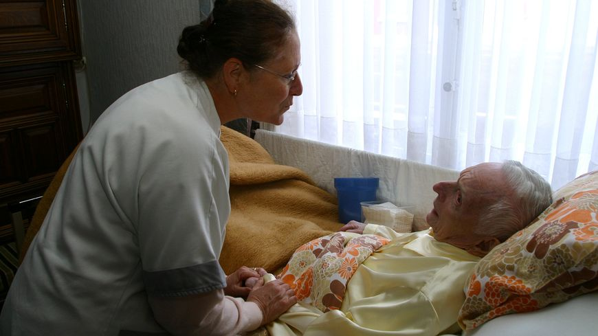 Aide-soignant est un métier sous tension.