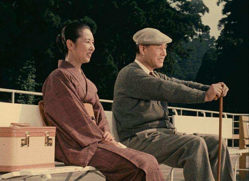 "Yasujirō Ozu , ""Fleurs d'équinoxe"", 1969"