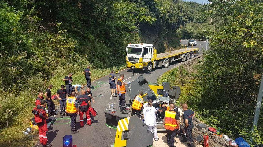 L'axe routier sur lequel s'est produit l'accident était interdit aux poids-lourds