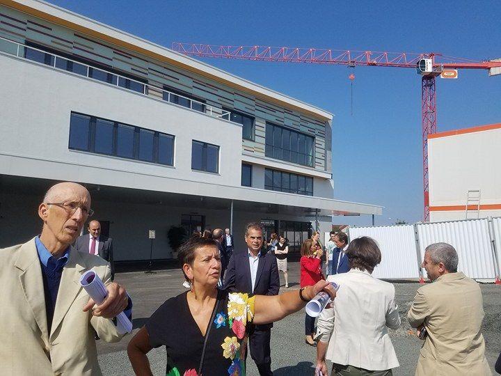 Le principal du collège Jean Cocteau à Coulaines a hâte de tester les nouveaux locaux.