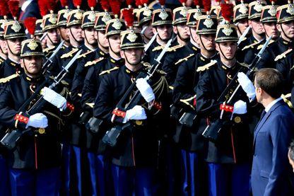 Défilé militaire du 14 Juillet 2018