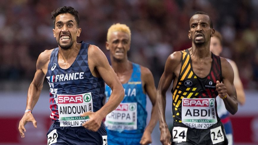 good quality limited guantity big discount Athlétisme : le Français Morhad Amdouni sacré champion d ...