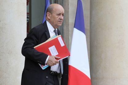 Jean-Yves Le Drian, Ministre de l'Europe et des Affaires Etrangères,