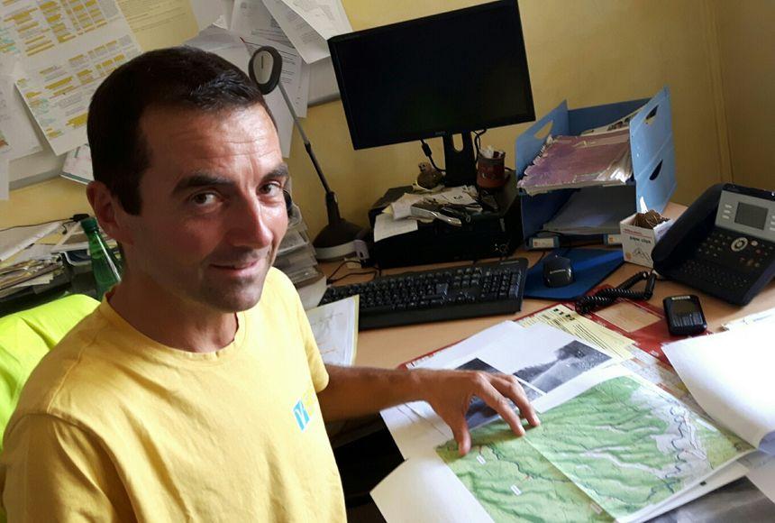 Christophe Faton agent des routes au Département de Vaucluse est à l'origine de l'idée
