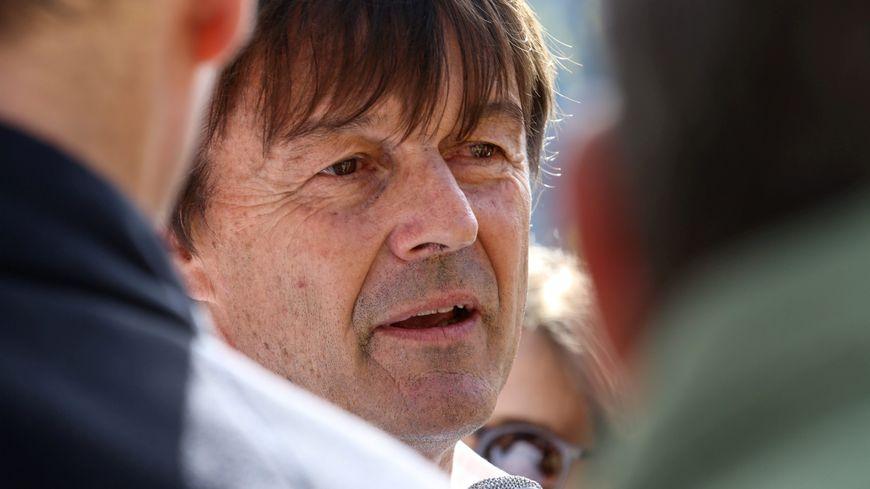 Nicolas Hulot était venu en septembre 2017 en vallée de l'Arve sur le thème de la pollution de l'air