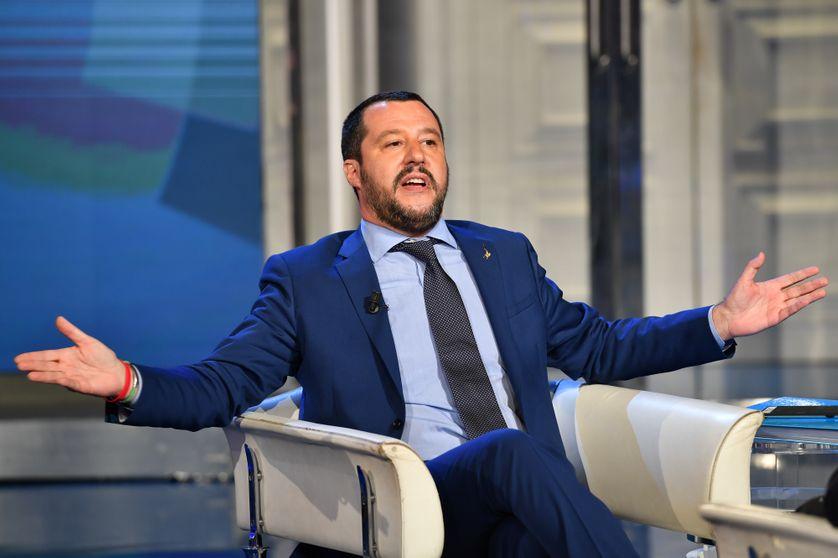 Le ministre de l'intérieur italien Matteo Salvini en juin 2018