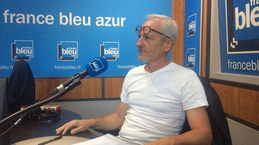 Alain Galan, représentant du syndicat enseignant SNES-FSU dans l'académie de Nice