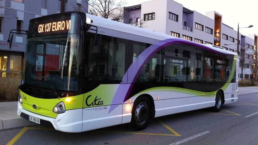Un bus du réseau Citéa