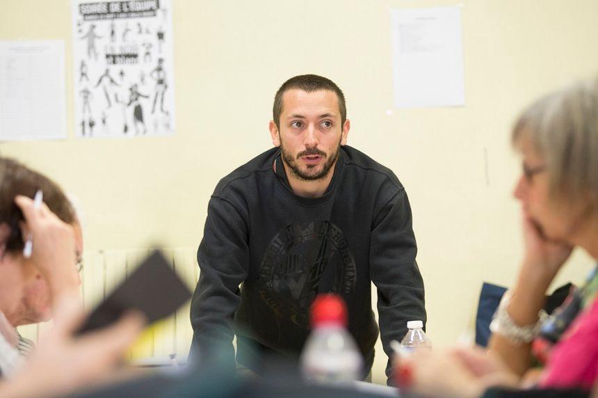 Martin Philippe, le chef des bénévoles.