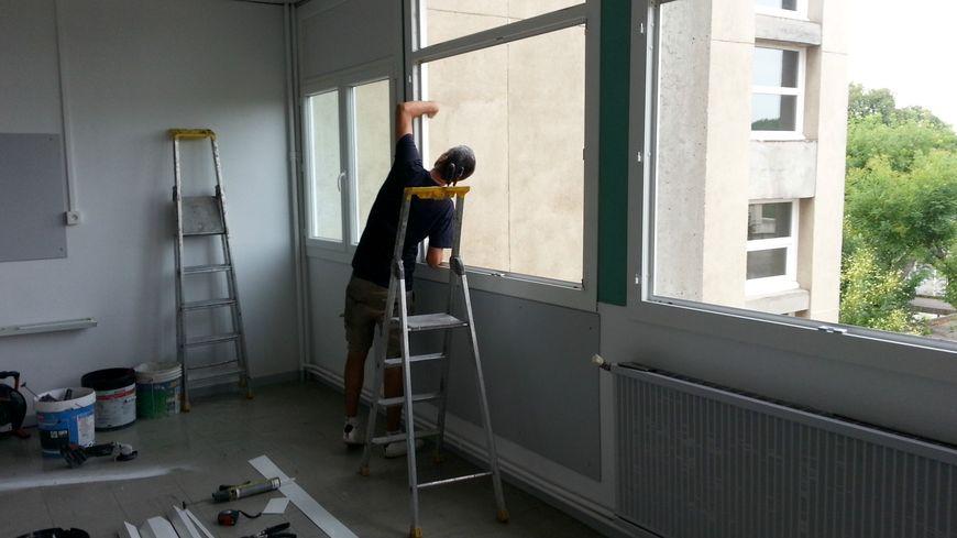 Les fenêtres de 4 nouvelles classes ont été changées à l'école Saint Roch d'Avignon