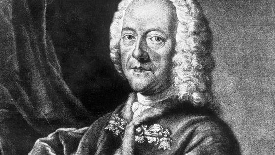 Portrait du compositeur Georg Philipp Telemann