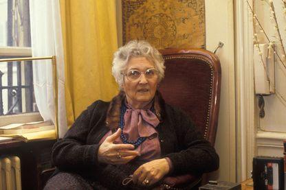 Françoise Dolto en 1980