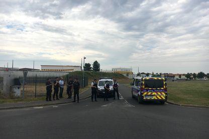 La prison de Réau d'où Redoine Faïd s'est évadé en juillet dernier