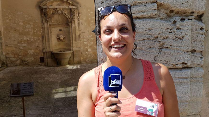 Pauline Ziliotto de l'OT de Pernes les fontaines