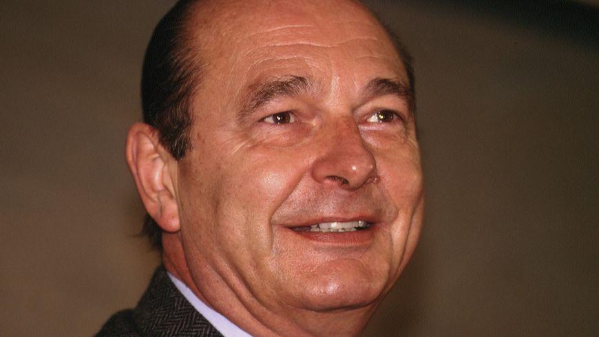 Jacques Chirac en novembre 1994.