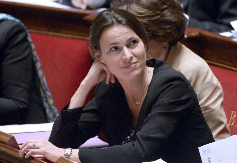 Aurélie Filippetti à l'Assemblée Nationale