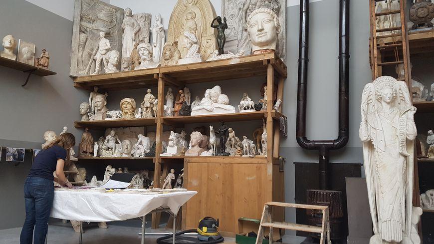 L'atelier parisien du sculpteur Henri Bouchard a été totalement reconstitué à Roubaix
