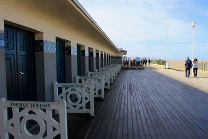 Les planches à Deauville