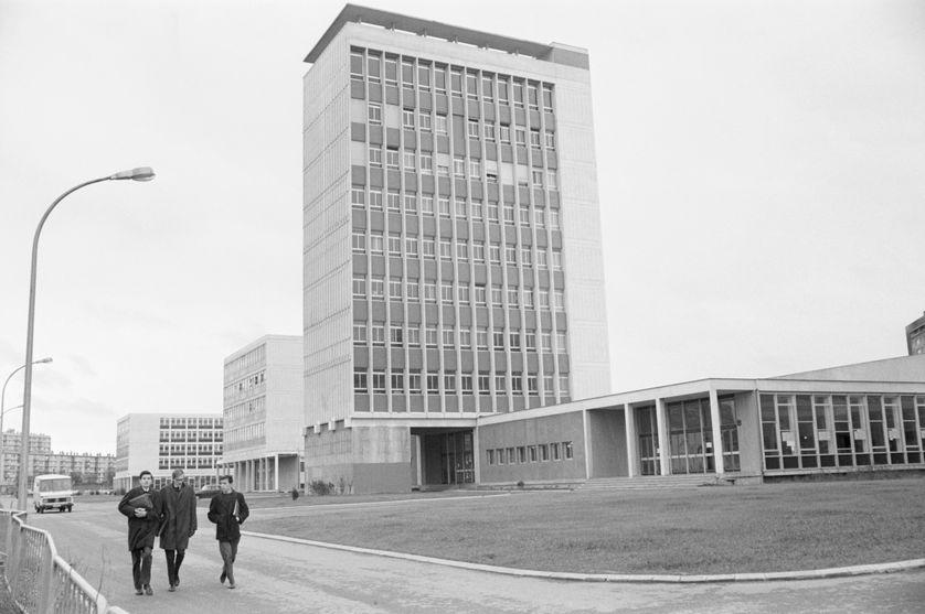 L'université de Nanterre en 1968
