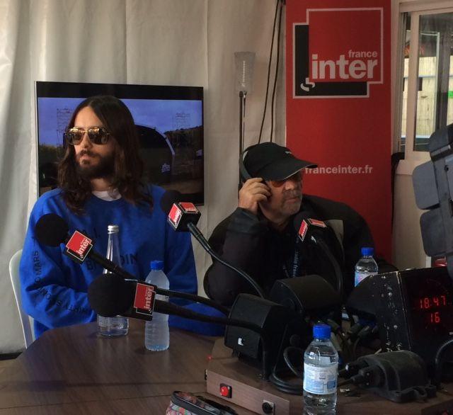 Jared Leto dans le Club estival au Festival Rock en Seine