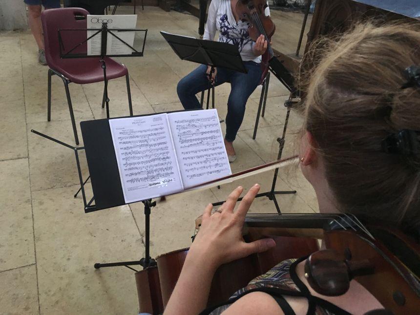 L'objectif des musiciens est de faire découvrir la musique classique dans les milieux ruraux