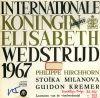 Concours Reine Elisabeth de Belgique 1967 : Violon