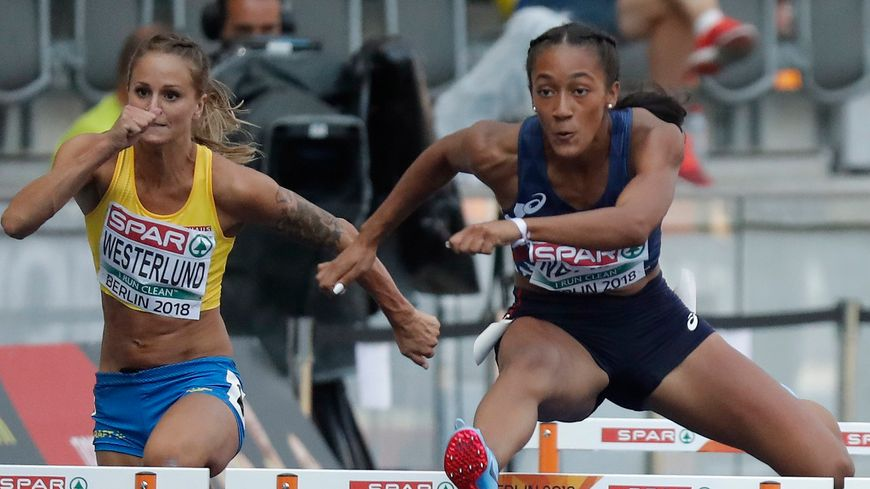 Jusqu'à la finale, Solène Ndama a survolé ses courses.