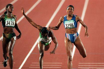 L'exploit préféré de Perec c'est sa victoire dans le 200m à Atlanta où elle devance Merlene Ottey et Mary Onyali, les deux spécialistes de la distance