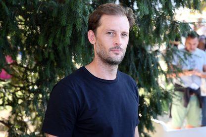 Nicolas Duvauchelle pendant le festival du film francophone d'Angoulême le 23 août 2018.