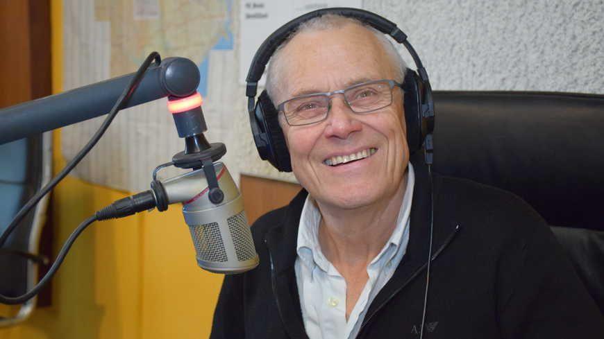 Le journaliste bretonnant Guy Le Corre