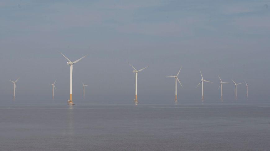 Photo d'illustration : un parc éolien en Mer de Chine