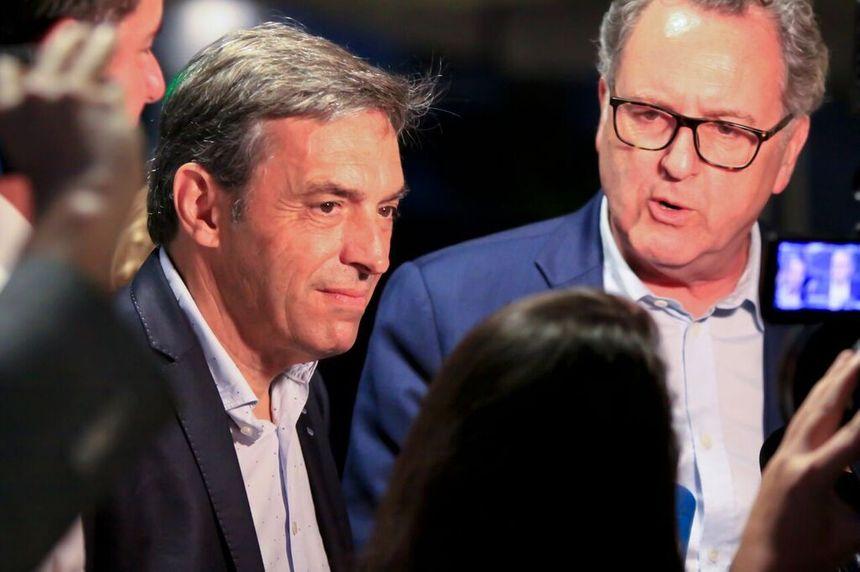 Le député d'Amboise avec Richard Ferrand à Tours