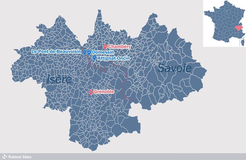 Le secteur de la reconstitution, en Isère et Savoie