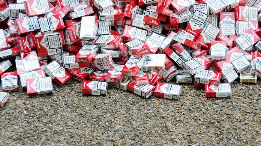 À l'aéroport de Beauvais, les douanes enregistrent une hausse des saisies de cigarettes (illustration)