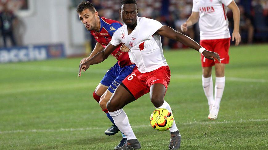Abou Ba et l'AS Nancy Lorraine restent sur une victoire à Ajaccio