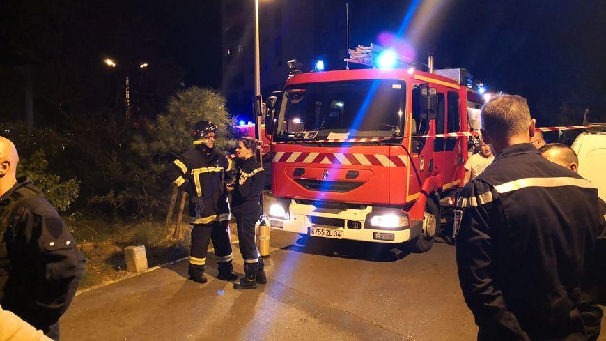 L'intervention Des pompiers'