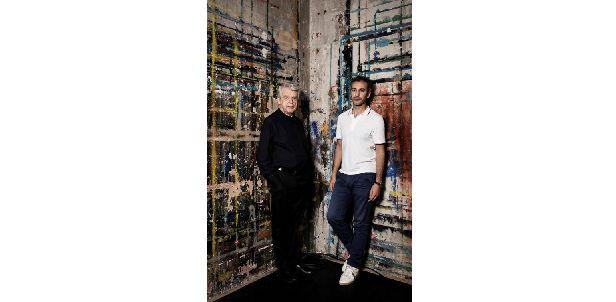 """""""Conversation"""" d'Alain Cavalier et Mohamed El Khatib (© Yoanne Lamoulière)"""