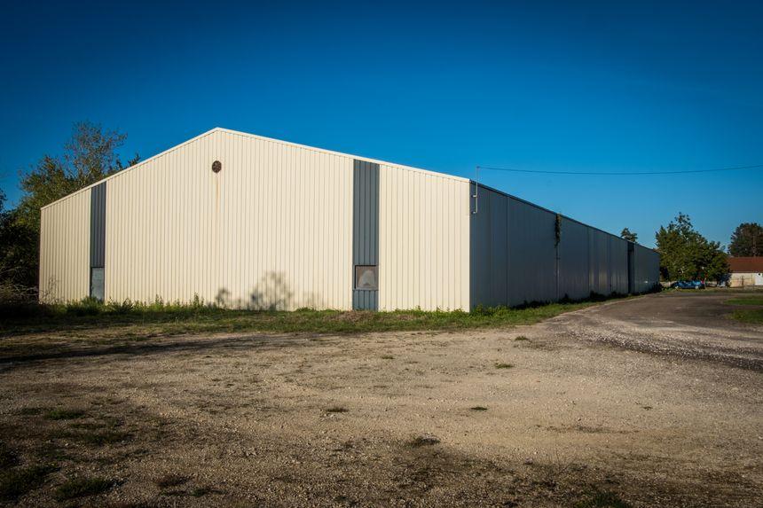 Le second bâtiment qui devrait permettre la progression de G - Manufacture sur le site.