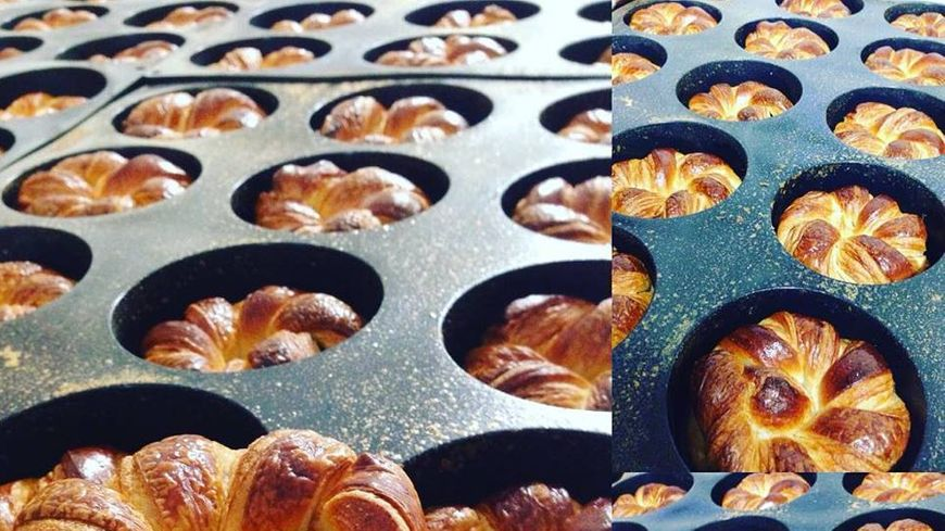 Noeuds marins, viennoiseries à la fraise chez Penn ar Bread