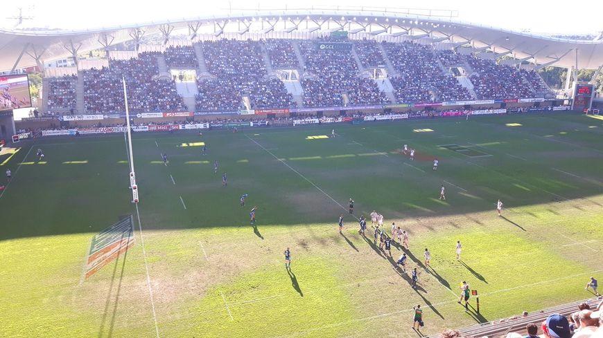 Montpellier a sonné la révolte en écrasant Toulouse (66-15) en TOP 14 de rugby