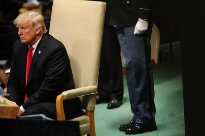 Donald Trump à l'Assemblée générale des Nations Unies, mardi 25 septembre.