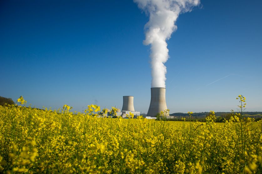Usine nucléaire de Civaux (Vienne)