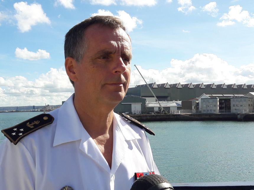 Pascal Ausseur a coordonné près de 4500 opérations en Manche et Mer du Nord