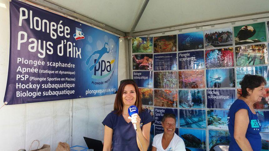 "Magali Fernandez du ""PPA Plongée Pays d'Aix"""