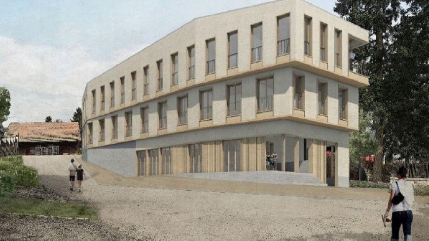Le projet de maison de santé de Craponne-sur-Arzon, qui bénéficie d'une partie du leg